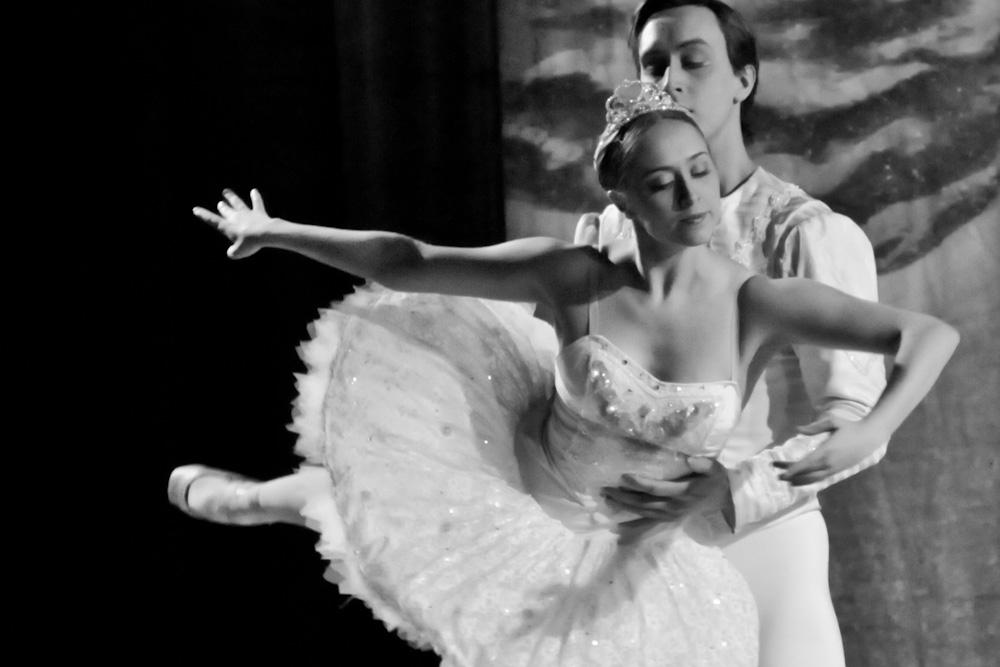 Dancers performing in The Nutcracker Ballet