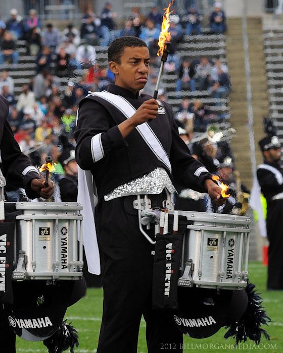 UConn Marching Band snare drummer Steve Jack